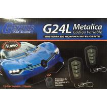 Alarma Genius G24l Para Auto Instalada