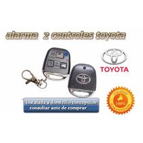 Alarma 2 Controles Toyota. Inst. A Domicilio Concepcion