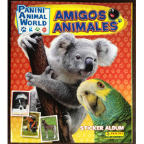 Laminas Album Amigos Animales (2012)