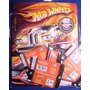 Album Hot Wheels Con 50 Sobres Nuevo Y Sellados