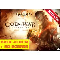 God Of War Album + 50 Sobres Nuevo Sellado Dios De La Guerra