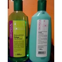 Kit Shampoo Y Acondicionador De Ortiga Sin Sodio P/ Alisados