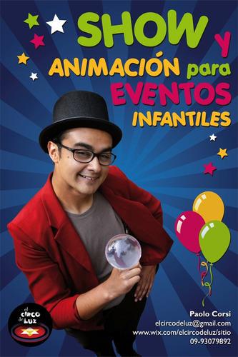Animación De Cumpleaños Y Malabarismo Para Eventos