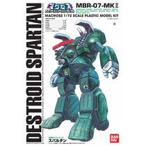 Robotech Destroid Spartan Mbr-07-mk Li 1/72 Bandai Macross