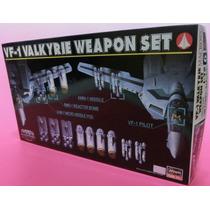 Robotech / Macross Vf-1 Valkyrie Weapon Set