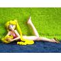 Sailor Moon Serena Tsukino Traje De Baño Rosado - Muy Escasa