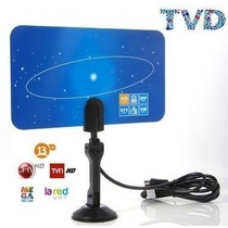 Antenas Tv Ultra Hd Plana Interior Led Lcd Tvd Ó Deco Isdb-t