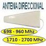 Antena Yagi Celular 3g 4g 800-960mhz 10dbi Wifi 1,7-2,5ghz