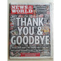 Diario The News Of The World Ultima Edicion