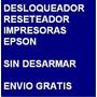 Desbloqueador Reset Impresora Epson Tx209 Envio Por Internet