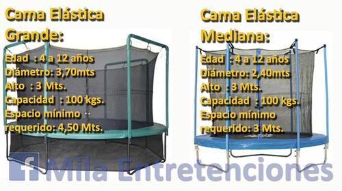 Arriendo Camas Elasticas Taca Tacas Mesa Hockey Etc/ Quilpue