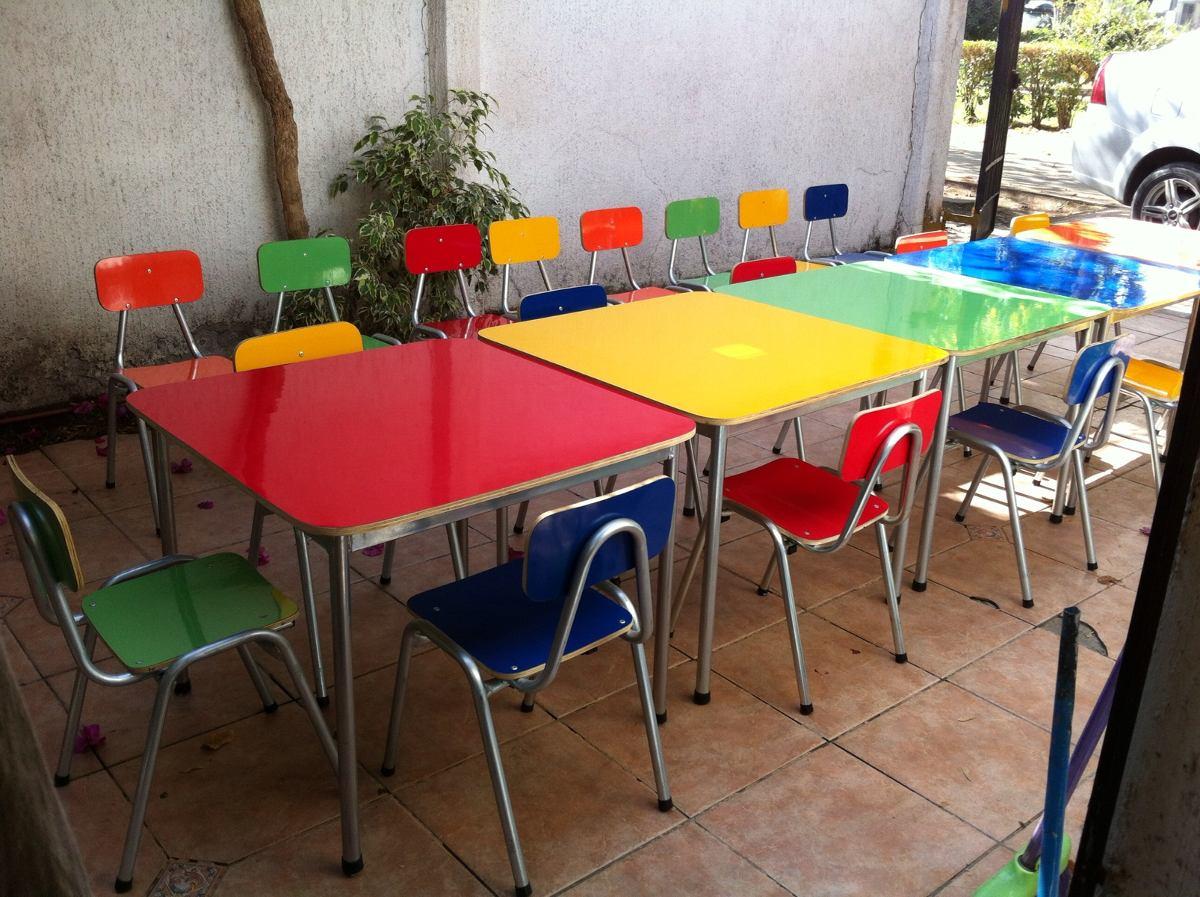 Mesas sillas infantiles dise os arquitect nicos for Silla y mesa para ninos