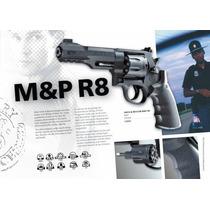 Revolver Smith Wesson Co2, Balines Acero Legal.