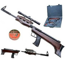Rifle A Postones Qb57 Deluxe En Maleta / Fernapet