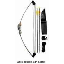 Arco Junior, 24 Pulgadas, Niños, Incluye 2 Flechas