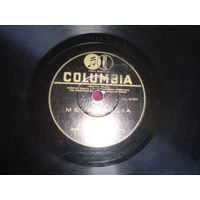 Antiguo Disco De Acetato Melancolia.slow Fox