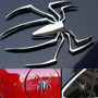 Sticker 3d ,spider,mariposa,geco,libelula,tiburon,escorpion.