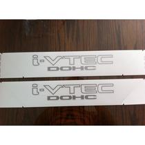 Adhesivos Laterales Originales Honda Civic Si I-vtec Dohc
