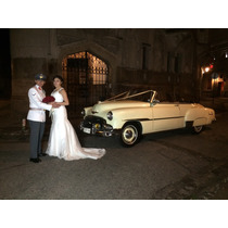Arriendo Chevrolet 51 Descapotable Para Matrimonios Y Evento