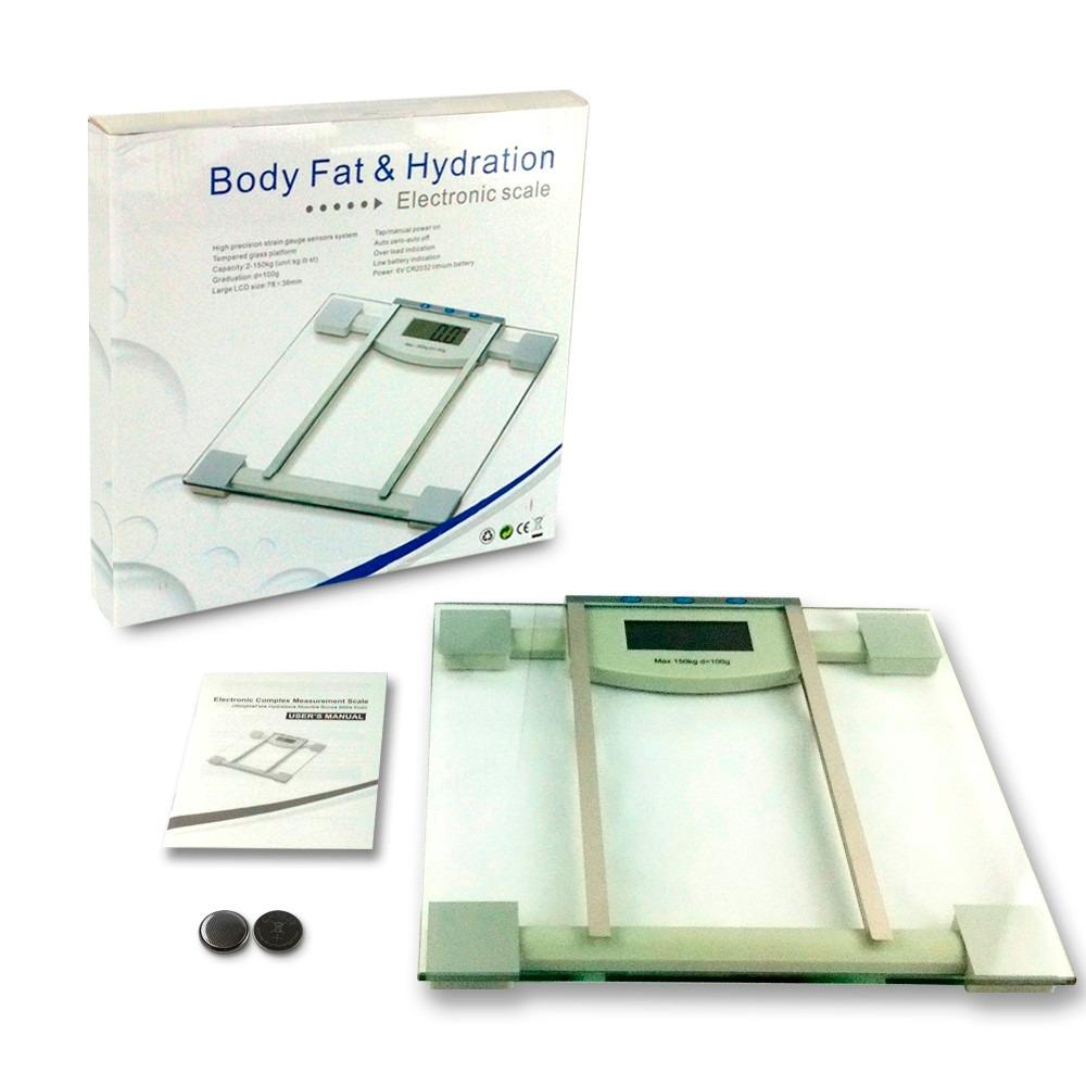balanza digital imc bia grasa corporal