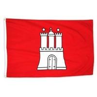Bandera De La Ciudad Libre De Hamburgo