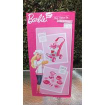 Carrito De Te Y Set De Cocina Barbie