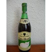 Antigua Botella Vino Gato Blanco Viña San Pedro De Coleccion