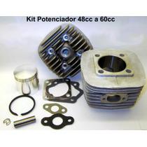 Kit Conversion Motor Bicicleta De 48cc A 60cc