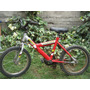 Bicicleta Lahsen Aro 16 Modelo Champion 1600 Color Rojo