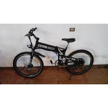 Bicicleta Eléctrica Plegable Cero Motors M600 Negra Usada