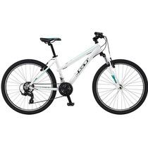 Bicicleta Mtb Gt Laguna Aro 26 Mujer Blanca