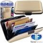Billetera Metalica De Aluminio Porta Tarjetas Credito