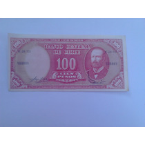 Billete Antiguo Chileno 100 Pesos