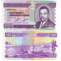 Burundi - Billete 100 Francos 2010 - Nuevo!!!!