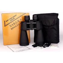 Binocular 60x90 Sakura, Prismáticos Alta Definición Metálico