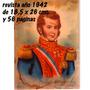 Revista Gral. Bernardo Ohiggins Imp. Grat. Nacional Año 1942