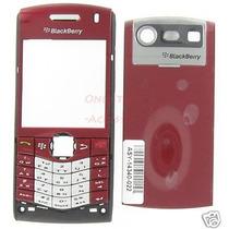 Carcasa Blackberry 8120 Roja Nueva Original Completa