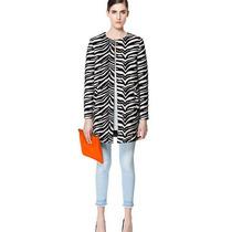 Nueva!!! Chaqueta Estilo Europeo Zebra Moda 2014