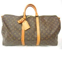 Bolso Louis Vuitton Monogram Keepall 60 Lv Boston Travel Bag