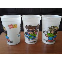 Clásicos Vasos Voltaje Bilz & Pap 1990 / Vintage Sin Uso