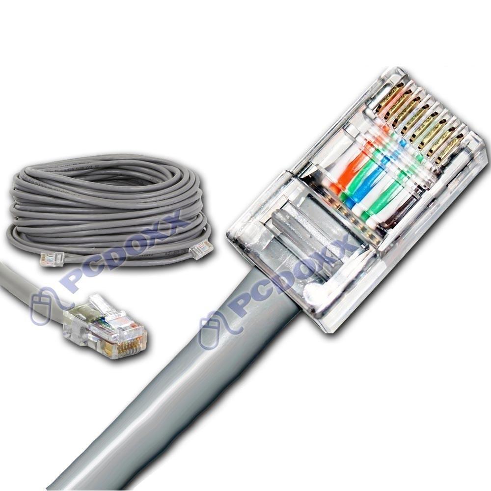 Cable red utp rj45 cruzado directo crossover for Cable para internet precio por metro