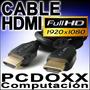 Cable Hdmi 10mts Fullhd 1920 X 1080 Plasma Led Lcd Xbox Ps3