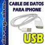 Cable Usb 2.0 De Datos Para Iphone 3g 3gs 4