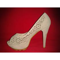 Exclusivos Zapatos Importados Con Plataforma 36