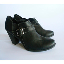 Botin Marca Jaclyn Smith Color Negro Nro 38.nuevos