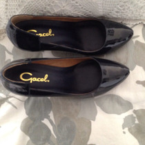 Zapatos Gacel Charol Azul
