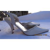 Gacel, Chalas Zapatos Cuero Suela Forro Badana Nº 37 Neuvos