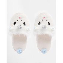 Pantuflas Zapatos Descanso Mujer Unicornio Nuevas Asos M