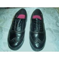 Escolar Zapatos Negros Numero 35