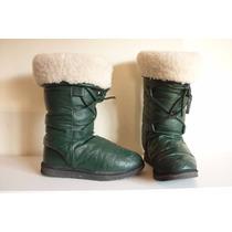 Bota Invierno Mujer Bindoon Boots Verde Numero 38